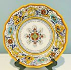 Fima DERUTA RAFFAELLESCO 11 DINNER PLATE Perfect Condition