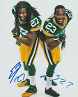 EDDIE LACY JOHNATHAN FRANKLIN Packers SIGNED 8 x 10 Photo AUTOGRAPH w COA AUTO