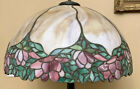 Vintage Mosaic Leaded Slag Glass Lamp Shade Only