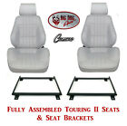 Standard Touring II Fully Assembled Seats  Brackets 1977 79 Camaro Any Color