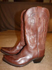 Lucchese Classics M5004S54 Womens Grace Tan Ranch Hand Riding Boots size 70B