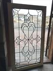 SG3567 Vintage Textured And Beveled Glass Window 295 X 5275