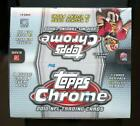 2012 Topps Chrome Football Retail Factory Sealed 16 pack Box