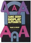 Sans Serif Display Alphabets 100 Complete Fonts Picture Archives by