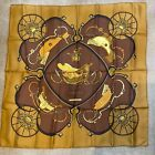 Hermes Scarf Carre 90 Springs by Philippe LeDoux perfect condition from 1980s