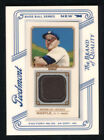 2010 Topps T206 T-206 Mickey Mantle Relic Card TR-MM Piedmont