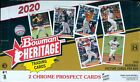 2020 Bowman Heritage Baseball Factory Sealed Hobby Box Online Exclusive