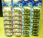 Hot Wheels Lot of 30 Ford Focus Tuners  2001 First Edition Large Rear Wings