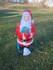 Vintage 1971 EMPIRE 33 SANTA CLAUS w Presents Christmas Blow Mold WORKING