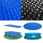 Floating Solar Cover Swimming Pool Water Heating Bubble Dust Covers Rectangular