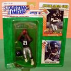 1993 DEION SANDERS Atlanta Falcons #21 * FREE s/h * Starting Lineup Neon