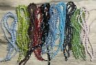 30 Strand Lot Glass Faceted Bicone Beads 4 10mm Ab16Each Color 3 sizesL24