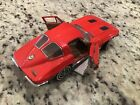 Franklin Mint 1963 Chevy Corvette Split Window Coupe Riverside Red 124 Diecast