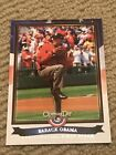 2011 Topps Opening Day Presidential First Pitch #PFP10 Barack Obama Card