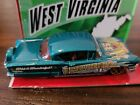 HOT WHEELS MINT 2009 CONNECT CARS SERIES 58 CHEVY IMPALA WEST VIRGINIA