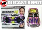 JIMMIE JOHNSON 2020 ALLY WHITE COLOR CHROME 1 24 ACTION