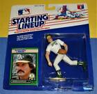 1989 DENNIS ECKERSLEY Oakland Athletics A's Rookie *FREE s/h* Starting Lineup