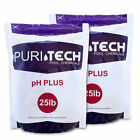 Puri Tech Chemicals pH Plus 50lb Resealable Bags for Pools  Spas Increases pH