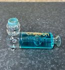 Cheech Glass Glycerine 4 Inch Ribbed Hand Freezable Cooling Pipe Blue