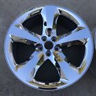 20 INCH WHEEL DODGE CHALLENGER CHARGER 2011 2014 OEM CHROME CLAD 2411 2424