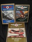 WINGS OF TEXACO DIECAST AIRPLANE BANKS LOT 2nd 3rd  4th IN SERIES NRFB GREAT
