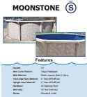 Round Above Ground Swimming Pool Package Pool Liner Skimmer Sand Filter System