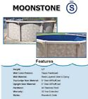 Oval Above Ground Swimming Pool Package Pool Liner Skimmer Sand Filter System