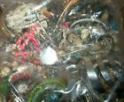 HUGE VINTAGE TO NOW JEWELRY LOT 12 pounds +++ WEAR RESELL GIFT  BOX 48
