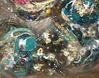 HUGE VINTAGE TO NOW JEWELRY LOT 12 pounds +++ WEAR RESELL GIFT  BOX 49