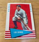 Lou Gehrig Cards, Rookie Cards, and Memorabilia Guide 6