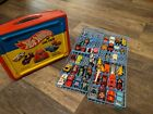 1986 Vintage carrying case lot Hot Wheels  matchbox  transformers 80s cars
