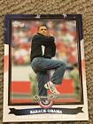 2011 Topps Opening Day Presidential First Pitch #PFP1 Barack Obama Card