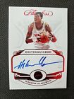 2018-19 HAKEEM OLAJUWON FLAWLESS RED DISTINGUISHED AUTO SP #2 15! AUTOGRAPH! HOF