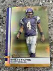 2009 Topps Finest Brett Favre REFRACTOR Vikings Green Bay Packers Jets HOF 59 75