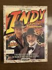 Indiana Jones and the Last Crusade Lucasfilm Games Big Box PC IBM 5.25 1989 INDY