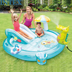 Round Crocodile Slide Inflatable Swimming Pool Paddling Pool Baby Ocean Ball