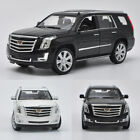 124 Cadillac Escalade 2017 Full Size SUV Model Car Diecast Vehicle Collection