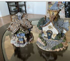 Set Of Bearly-Built Village #9 And #3 Boyds Town #19009 #19003