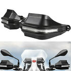 Motorcycle Hand Guard Windshield Rain Protection Shield Front Handlebar with LED