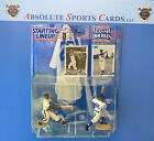 1997 Starting Lineup Classics Doubles JACKIE ROBINSON HANK AARON Package Wear