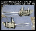 Mercury Outboard Motor 6 hp 8 hp 99 hp 15 hp Lower Unit short shaft