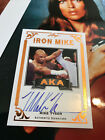 Mike Tyson Boxing Cards and Autographed Memorabilia Guide 45