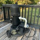 Waterway SD 20 2N11CX Above Ground Swimming Pool Pump With Hoses System Filter