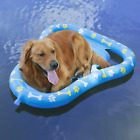 Aiseve Premium Dog Float Durable Summer Swimming Dog Pool Paw Inflatable Raft