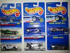 Hot Wheels Panoz Zender Callaway Vector Jaguar Lot of 6
