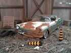 DIORAMA BARN FINDDANBURY MINT 1957 FORD SKYLINER124CAR ONLYREAD