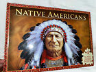 NATIVE AMERICANS DELUXE JIGSAW BOOK DELUXE JIGSAW BOOKS By Brimax BRAND NEW