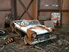 DIORAMA BARN FINDFRANKLIN MINT 1957 FORD SKYLINER124CAR ONLY