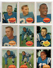 1960 Topps Football Cards 11
