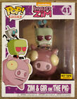 Funko Pop! Rides – Invader Zim: Zim & Gir on the Pig - HT Exclusive